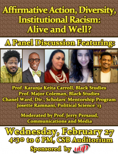 Affirmative Action Panel