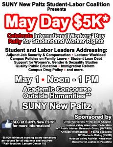 May Day white background