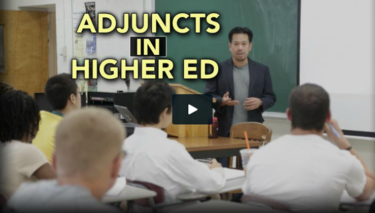 adjuncts in higher ed